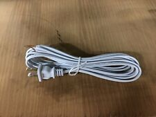 Basic lamp cord with plug and stripped end lot of 10