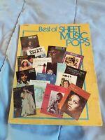 Vintage Best Of Sheet Music Pops-Songbook-1976