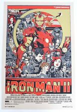 IRON MAN 2 MONDO POSTER BY TYLER STOUT LIMITED EDITION SCREEN PRINT SIGNED