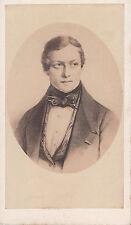 Photo cdv : Charles-Auguste de Bériot , Compositeur Belge