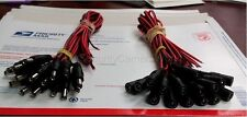 20 Pack DC Power Pigtails (10 Male/ 10 Female) for CCTV  Security Cameras
