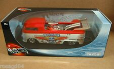VW Pickup Dragster Red Car 100% Hot Wheels Die Cast Metal 1:18 Scale! NEW #53833