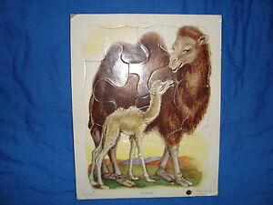 Vintage Playskool Golden Press Puzzle Camel