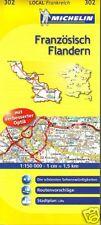 Michelin Localkarte Französisch Flandern 1 : 150 000