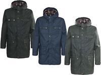 Trespass Mens Wax Effect Parka Jacket | Coat