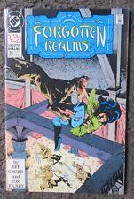 "DC COMICS ""FORGOTTEN REALMS"" NO. 20 APR.1991 VF+ 8.5  JEFF GRUBB & TOM RANEY OOP"