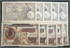 #LOTTO per Commercianti 10 banconote Occupazione Italiana del Montenegro WW 1929