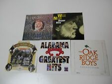 Country Collection Lot of 5 CD Music Alabama Rogers Willie Nelson Oak Ridge Boys