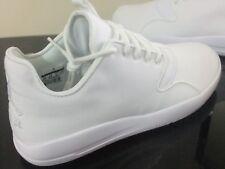 Original Mens Triple White Nike Air Jordan Eclipse Basket Trainers size 8.5