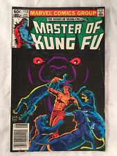 Master of Kung FU # 113 June 1982 Marvel Bronze Age FREE SHIPPING