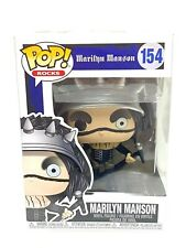 New ListingMarilyn Manson Music Pop! Vinyl Figure Toy #154 Funko New Nib