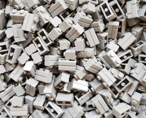 250 x LEGO® Brick / Stein 1x2 Masonry / Ziegel ( 98283 ) in Neu Hellgrau / LBG