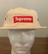 SUPREME FIELD CAMP CAP NATURAL OS, SS20 WEEK 2 (IN HAND) AUTHENTIC, BRAND NEW
