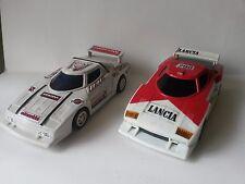 2 x Vintage Lancia Stratos Plastic Car Toy 1:24 VERY RARE One Of Them Is Soviet