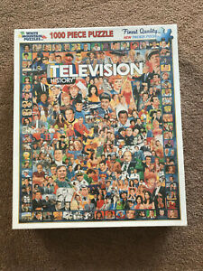 New TELEVISION HISTORY TV show actors 1000 pcs. White Mountain 2012  SEALED