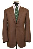 RECENT Brooks Brothers Madison Brown Houndstooth Wool Sport Coat Jacket 41 L