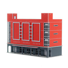 1/150 Scale Outland Building Model Shopping Mall Theater Art Skyscraper Model