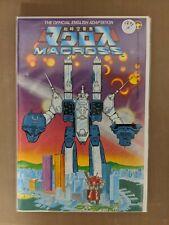 Macross #1 (1984, Comico) NM 1st App Robotech! Movie Coming Soon Hot,Hot book.
