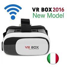 OCCHIALI VR BOX 2.0 OCCHIALI REALTA' VIRTUALE 3D  VIRTUAL REALITY,