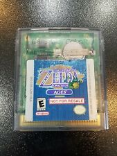 Legend of Zelda Oracle of Ages Nintendo Game Boy Color NFR Demo Kiosk GBC