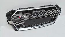 Audi RS5 F5 Grill High Gloss Black Aluminium Matt for Pdc 8W6863651