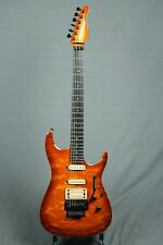Zion Classic Cherry Sunburst 4 digit serial number Early Schaller Floyd Rose
