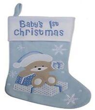 Chaussettes de Noël bleus pour la maison