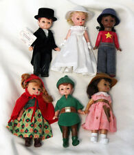 2002 Complete Set of 6 McDonalds MADAME ALEXANDER Doll Happy Meal Toys Nice Set!