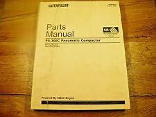 CAT Caterpillar PS360C Pneumatic  Compactor Parts Manual PJF CRS