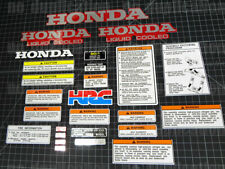 1989 - 90 Honda Pilot ATV 89' FL400 FL-400R 26pc FRAME Body Motor Decal Stickers