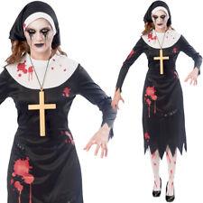 Zombie-nonne Halloween Kostüm Damen Amscan