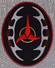 "Star Trek The Next Gen Klingon Bat'Leth Insignia PATCH 4 1/2"" TALL"