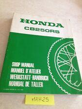 Honda CB250RS CB250 RS CB 250 250CB revue technique workshop service Manuel