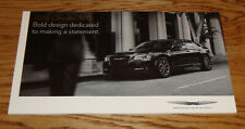 Original 2018 Chrysler 300 Deluxe Sales Brochure 18 Touring 300S 300C Limited