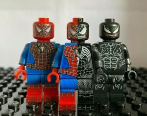 Lego Kompatible Spiderman Figuren Set 1
