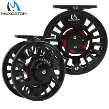 Maxcatch Tino Fly Fishing Reel 5/6,7/8 Weight Large Arbor Trout Fly Reel