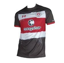 FC St. Pauli Trikot 2017/18 Home Under Armour Shirt Camiseta Maillot Maglia