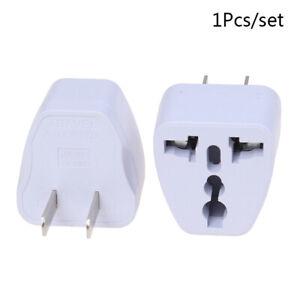 Universal EU UK AU to US USA AC Travel Power Plug Adapter Outlet ConveCW