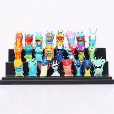 Lot Slugterra Elemental Slugs Toy Slug Terra Action Figure Doll Decoration 24pcs