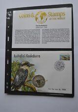 More details for australia kookaburra 1994 silver $1 dollar coin cover