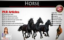 90+ PLR Articles on Horse Niche Private Label Rights