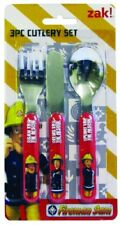 Fireman Sam Cutlery Set knifre Fork and Spoon Tableware Elvis Penny gift