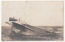 Sanke Ak Der neue Ago - Eindecker Flugzeug 1916 Flugplatzkommandant Döberitz FP