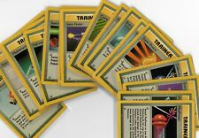 Pokemon Lot BASE SET TRAINER Card Rare NON HOLO Choice Non-Shadowless EX/Mint