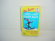 Dr. Seuss - The Cat in the Hat Comes Back (VHS, 1994)