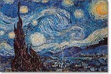 "Vincent Van Gogh art poster 24x36"" Starry Night classic art print"