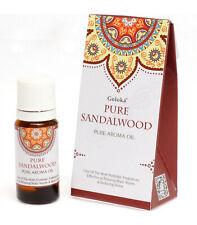 OLIO AROMATICO DI SANDALO (GOLOKA) 10 ml | 100% puro, terapeutico aromaterapia