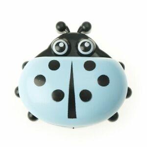Ladybug Shape Soap Dishes Box Organizer Kids Bathroom Soap Holder With Covers