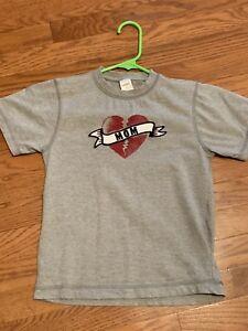 GYMBOREE Boys Valentine's Day Shirt MOM's HEARTBREAKER   Size 6