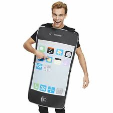 Adult Fancy Dress Smartphone Costume Mobile Phone iPhone Novelty Fun Outfit Stag